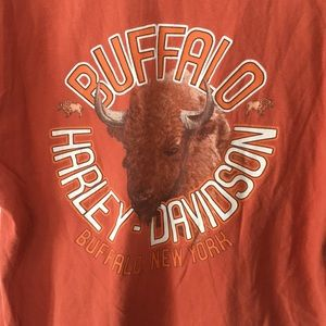 Harley Davidson Buffalo New York Vintage Shirt